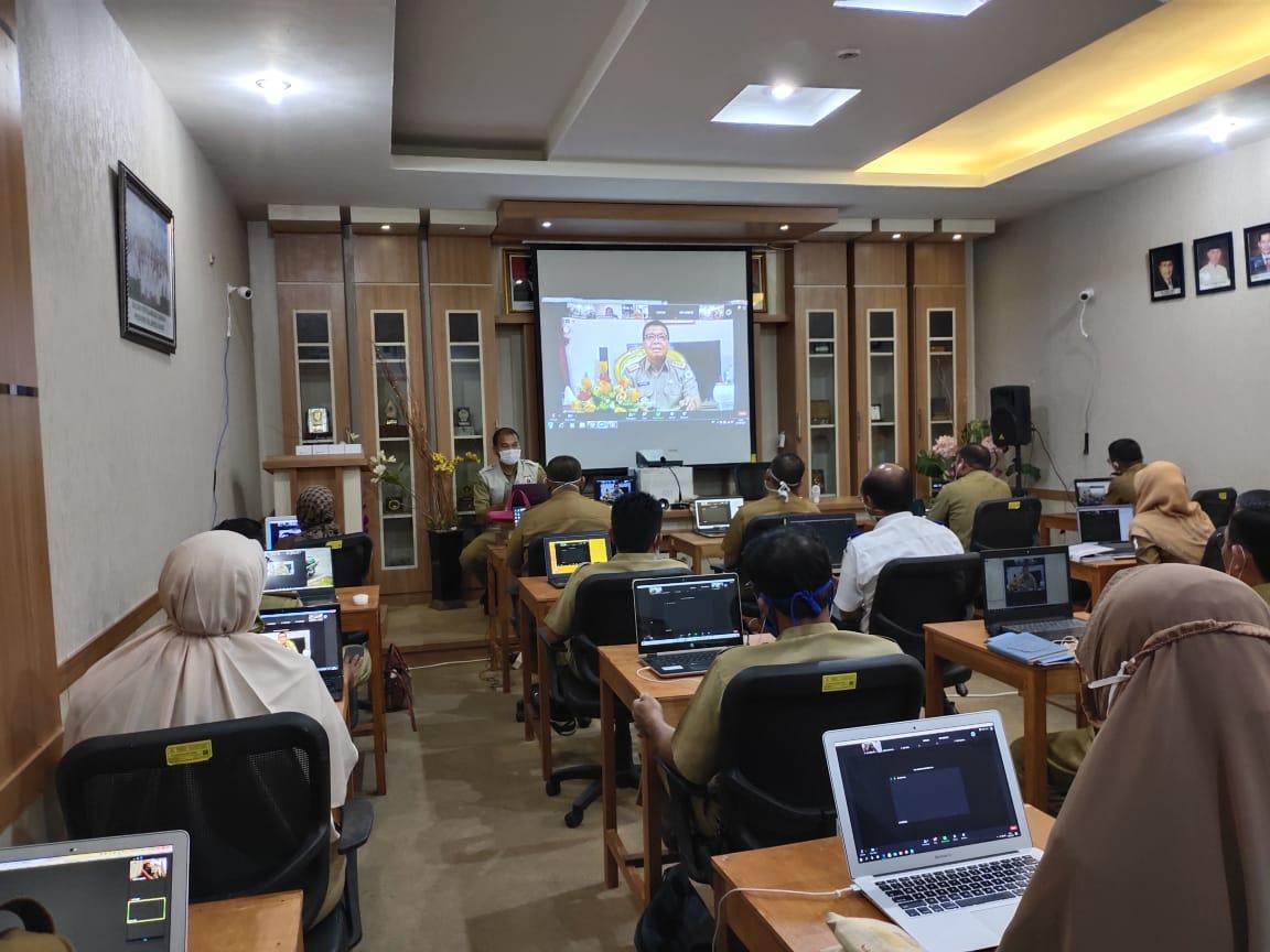 Pelaksanaan Tes  Lelang Jabatan Pimpinan Tinggi Pratama Pemprov Sulawesi Barat