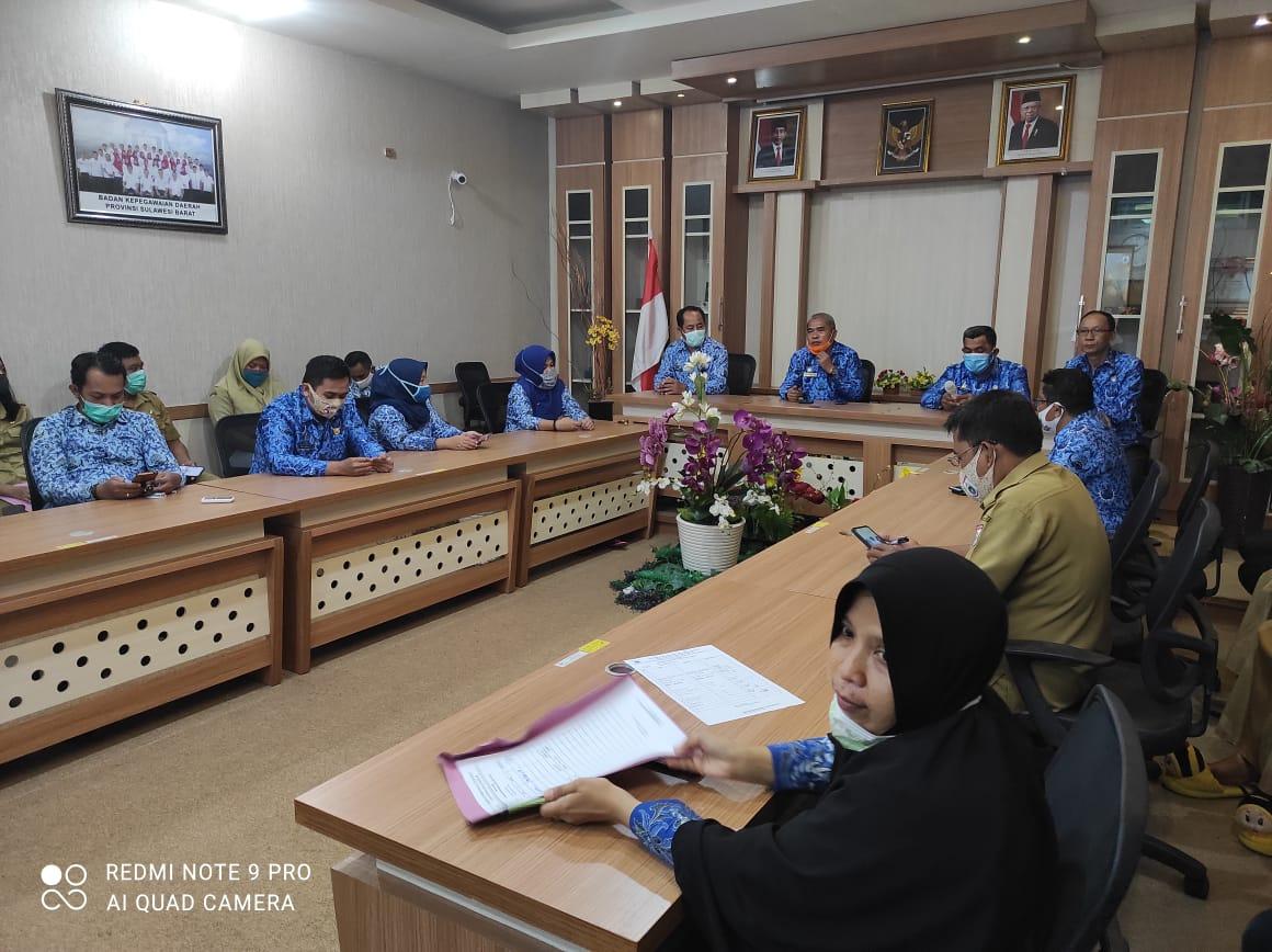 Sosialisasi Aplikasi Kinerja Mobile (K-Mob) Lingkup BKD Provinsi Sulawesi Barat