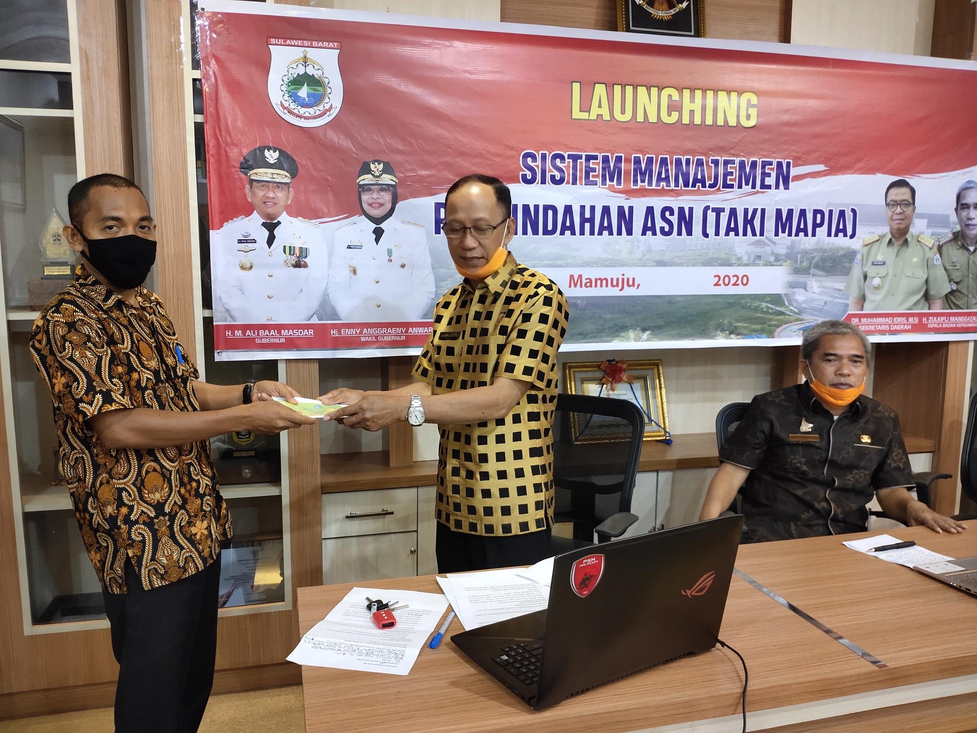 Launching Aplikasi TAKI MAPIA