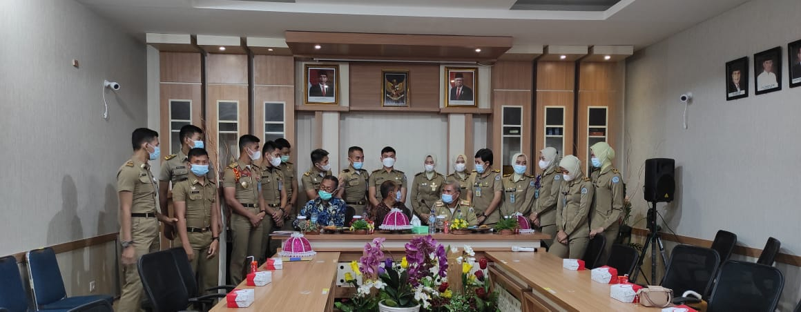 Penerimaan Magang IPDN Angkatan XXVIII di Lingkungan Pemerintah Provinsi Sulawesi Barat